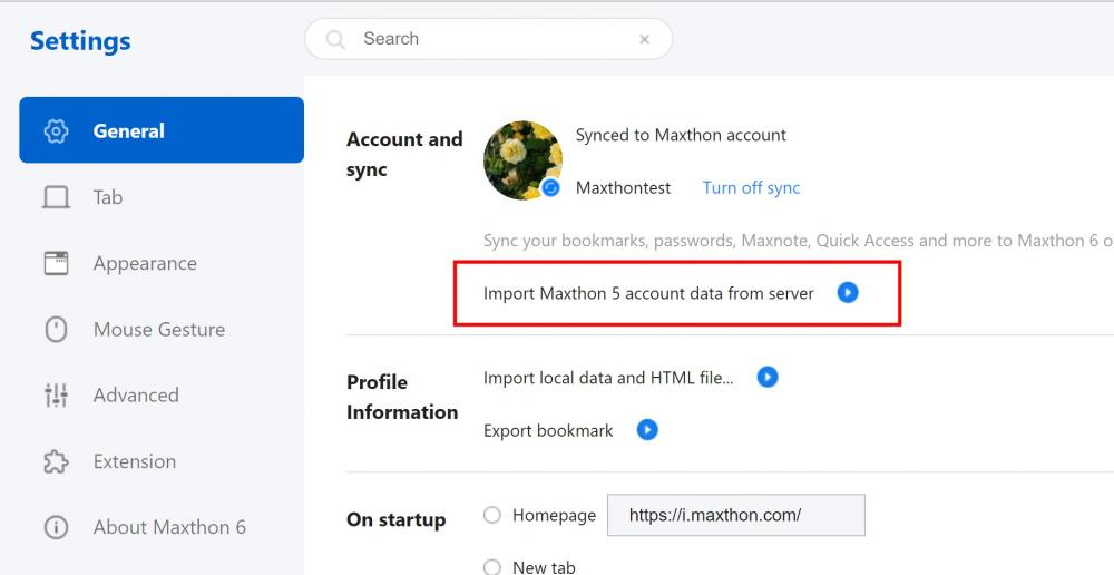 Import Maxthon 5 account data.jpg